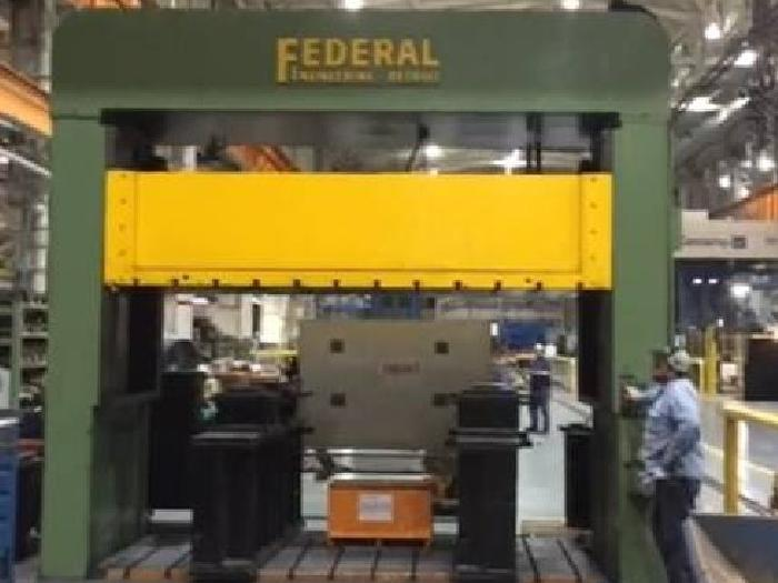 100 ton Federal Hydraulic Spotting Press