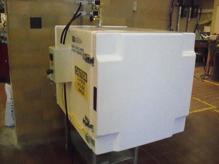Used Fiberglass Nitrogen Freezer; 8CF, Md#CC08RS