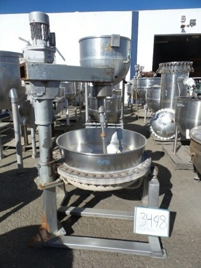 100 Gallon Jacketed Mix Kettle #3498