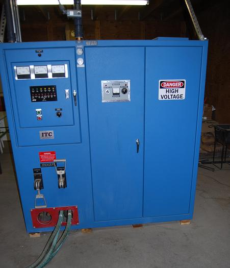Used 2012 ITC (INDUCTION TECHNOLOGY) 250 KW INDUCTION FURNACE