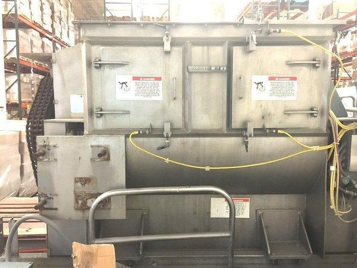 Used 1500 LITER (53 CU. FT.) AMERICAN PROCESS SYSTEMS FLUIDIZED ZONE MIXER – SANITARY S/S