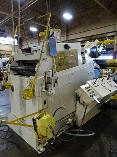 Used 20,000# AMERICAN STEEL LINE COMBINATION UNCOILER AND STRAIGHTENER