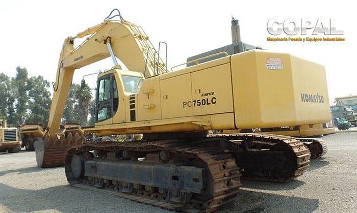 2000 Komatsu PC750LC-6