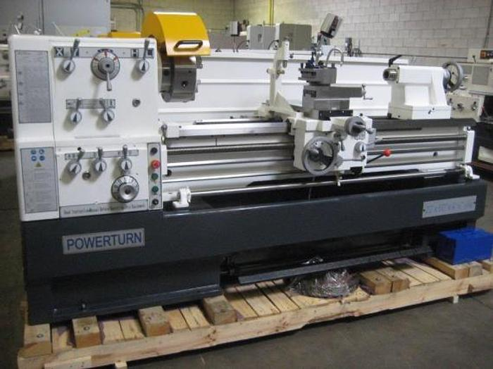 "22"" X 80"" ""NEW"" POWERUTRN ENGINE LATHE W/ 4-1/8"" SPINDLE BORE"