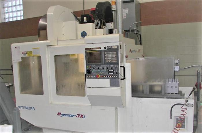 Used 2000 Kitamura MyCenter 3Xi w/Pallet Changer