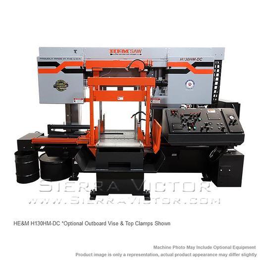 HE&M Dual Column Bandsaw H130HM-DC