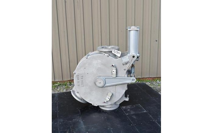 USED 6'' TWO WAY DIVERTER VALVE, SANITARY