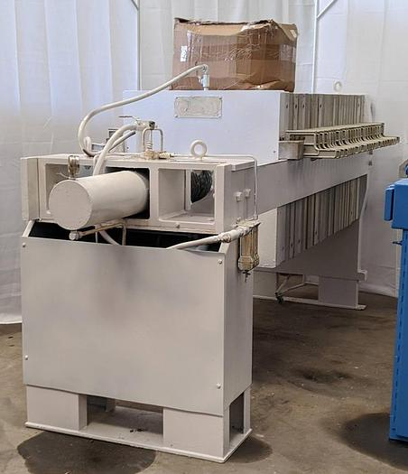 Used FP-38: Used 14 cu. ft, Perrin brand Filter Press