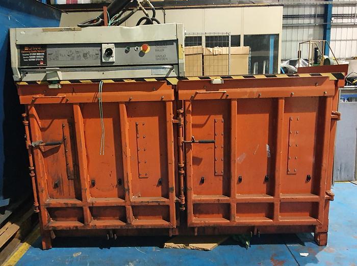 Used 2005 Orwak 8020 twin Chamber Baler
