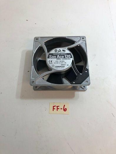 New Sanyo Denki San Ace 109S024UL Cooling Fan 115V 14/12W 0.16/0.14A Warranty!