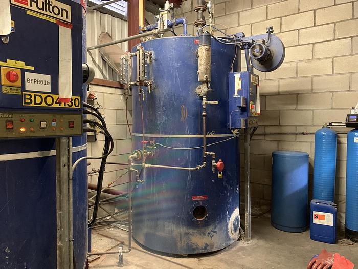 Used 1998 FULTON 60E Gas Fired Steam Boiler