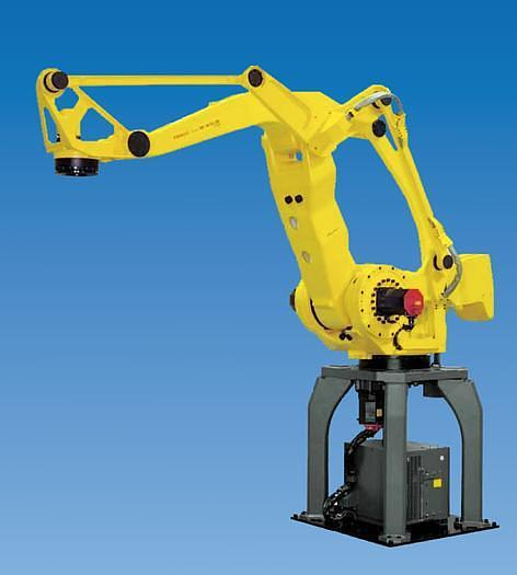 2004 FANUC M410iB/450 CNC 4 AXIS PALLETIZING ROBOT ON STAND UNIT