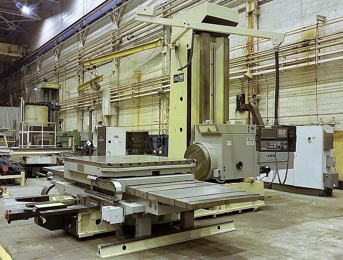 WMW BFT 130/7 6-axis CNC Horizontal Boring Machine