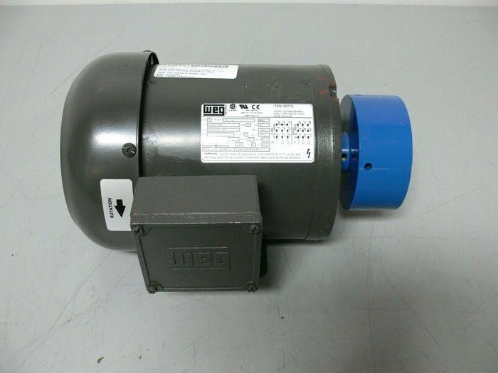 Used Weg 00156ES3EB56C 1.5 HP Motor Vertical Magnetic Drive