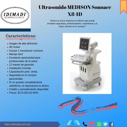Usado Ultrasonido MEDISON SONOACE X8 4D