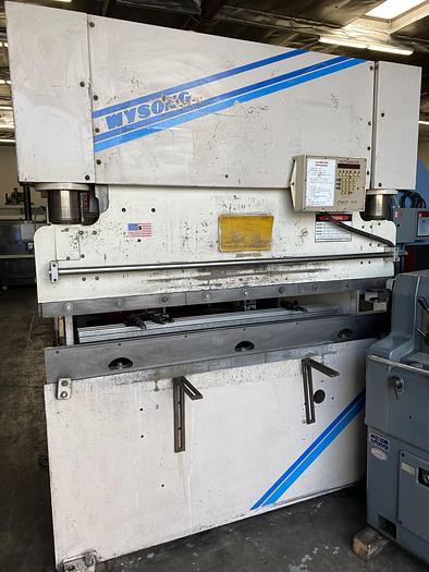 Used Wysong 60 Ton x 6'  Hydraulic CNC Press Brake Model MTH60-72