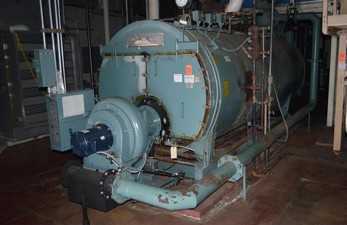 Used Cleaver Brooks 150 PSI Steam Boiler  CEW-700-150 Low Nox 150 HP