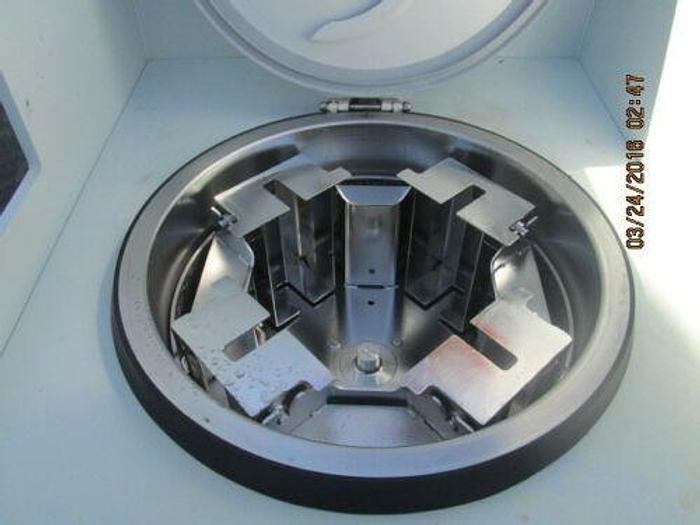 """FLUOROWARE / FLUROCARBON SPIN RINSE DRYER FOR (4) 3"""" WAFERS"""