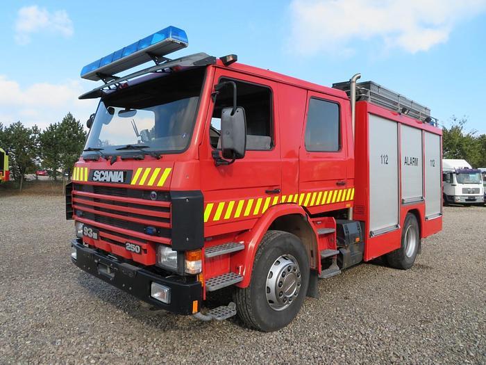 Meget god 1995 Scania P93/250 4x2 Ziegler Pumpe