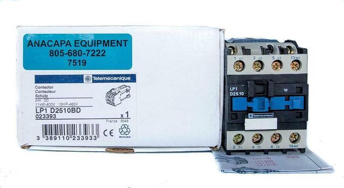 Telemecanique LP1-D2510BD Contactor 24VDC NEW (7519) W