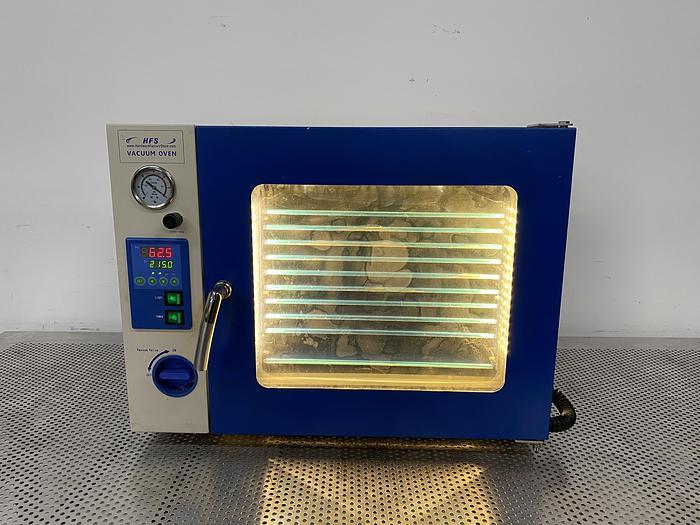 Used 2019 HFS DZF-6050 1.9 CuFt Vacuum Oven Temperature Range 18 to 212° F 110V
