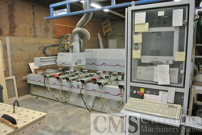 Used 2002 Weeke Optimat BHC 250 CNC Router