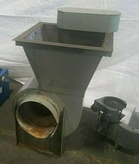 Used Air Blower Exhaust System 3/4 HP 110V 12 inch duct