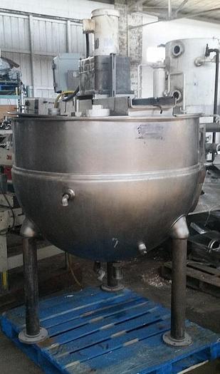 Used Groen 200 gal Scrape kettle 316ss