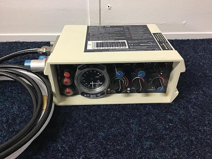 Pneupac Ventilator MRI Babypac 100