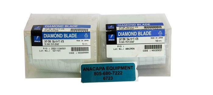 Disco Diamond Blade, ZHT-399 104J-D-T1, ZHT-398 104J-D-T1 Lot of 15 NEW (6723)W