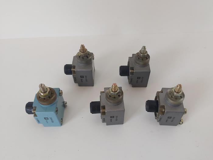 5 Stück Endschalterkopf, ZCK E05, Telemechanique,  neu