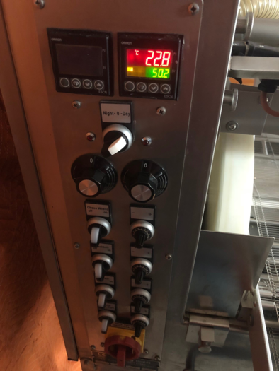 DEDY 220mm CHOCOLATE ENROBER