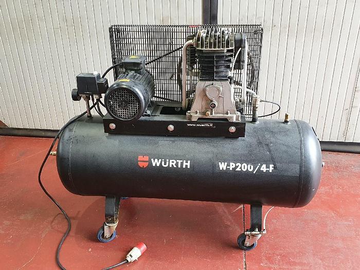Usato Compressore da 200 lt. WURTH W-P200/4F