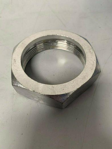 "Used 3.5"" Stainless Steel Hex Nut for endcap"
