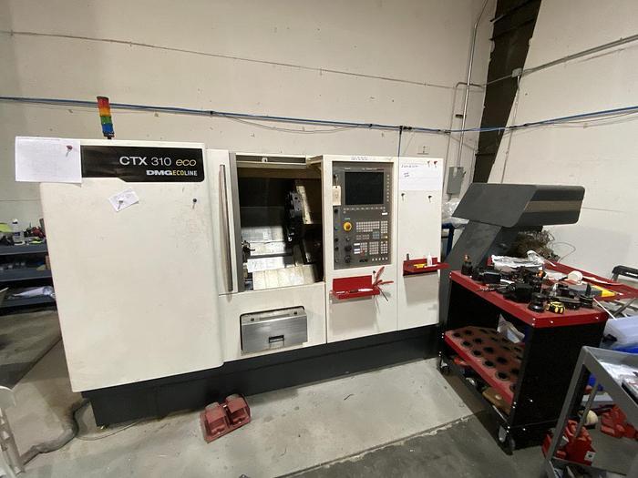 2006 DMG CTX 310 Eco CNC Turning Center w/milling #1696