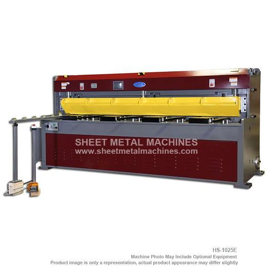 GMC Machine Tools Heavy Duty Hydraulic Shear HS-1025E
