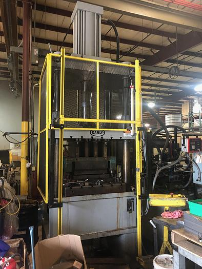 Used 200 TON DANLY C-FRAME HYDRAULIC PRESS