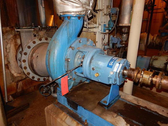 Used GOULDS 3175 STAINLESS STEEL PUMP