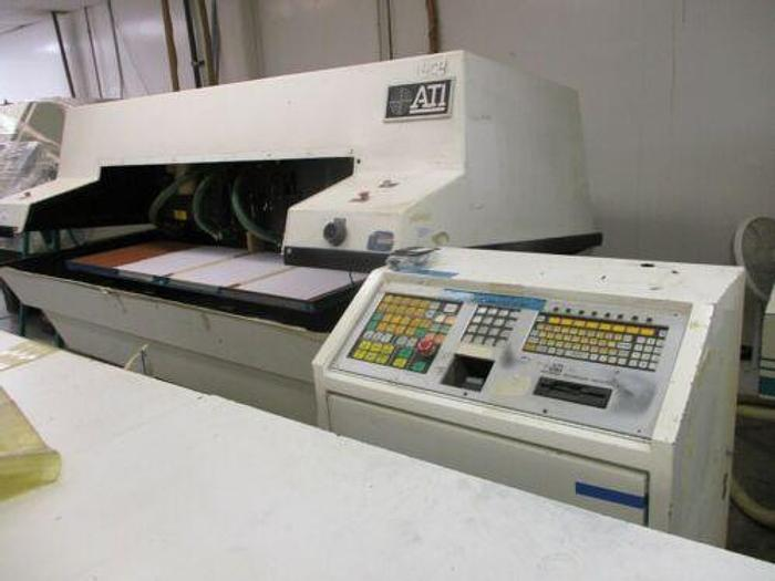 ATI MODEL 404CM 4 SPINDLE HIGH SPEED CNC ROUTER /CIRCUIT BOARD DRILL