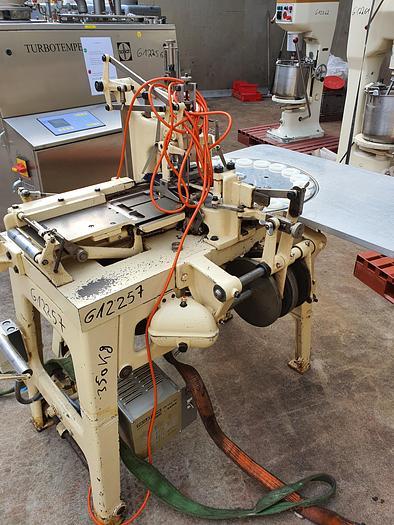 Gebraucht gebr. Stannioliermaschine SAPAL Type PRMG für runde Produkte.