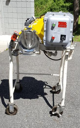 Used FITZPATRICK JT FITZMILL – GRAVITY FEED – SANITARY S/S