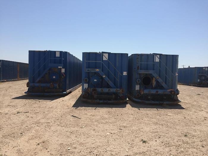Used 2008 Dragon Flat Top Tanks