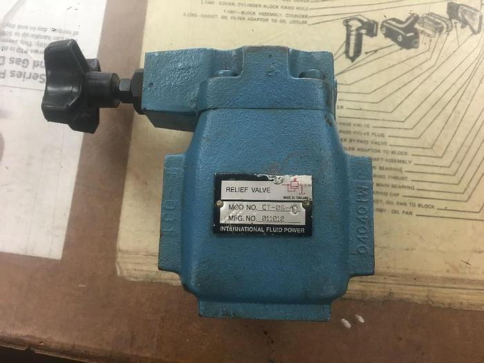 Used INTERNATIONAL FLUID POWER