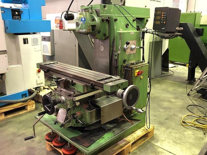 1977 Fräsmaschine konventionell FEXAC Typ UP-1100