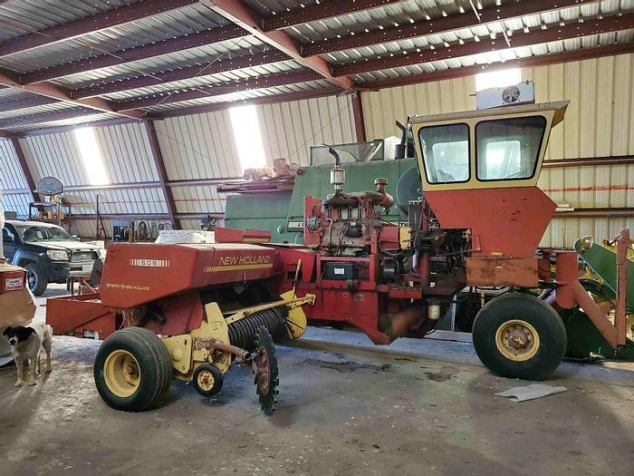 Used New Holland 505 Self-Propelled Baler