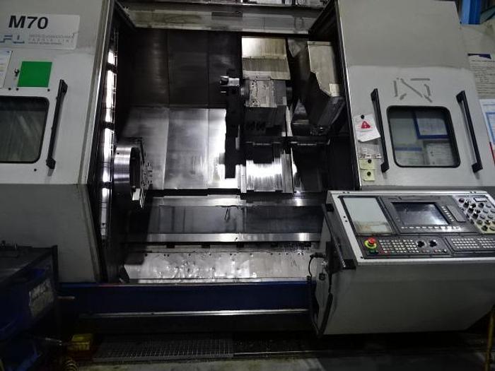 Usato TORNIO FRONTALE A BANCALE INCLINATO WFL M 70 CNC