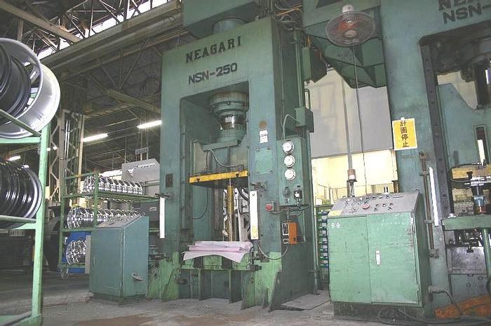 Used Press Sheet Stamping Hydraulic NSN-250