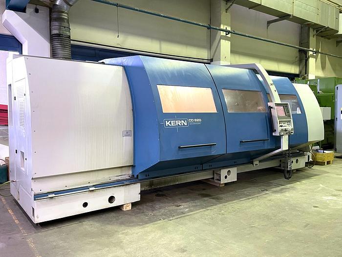 Gebraucht CNC Zyklen - Drehmaschine DMT KERN CD 820