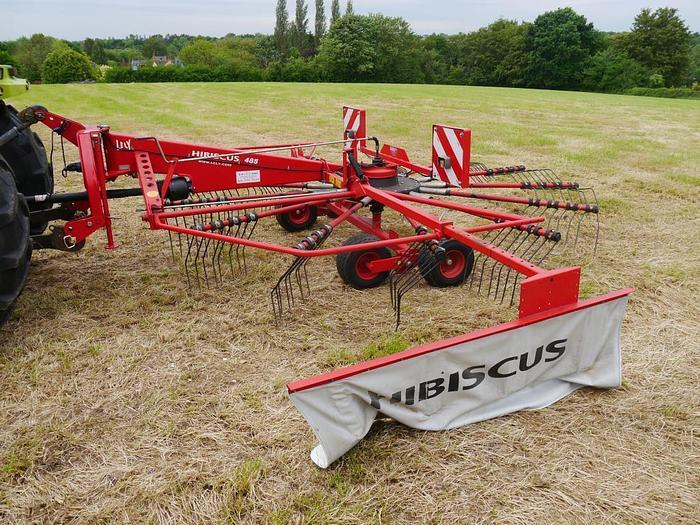 Used Lely Hibiscus 485 Hay Rake