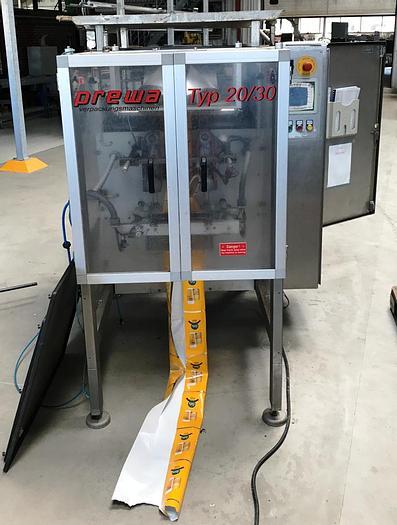 Used PREWA bag packing machine, type 20/30